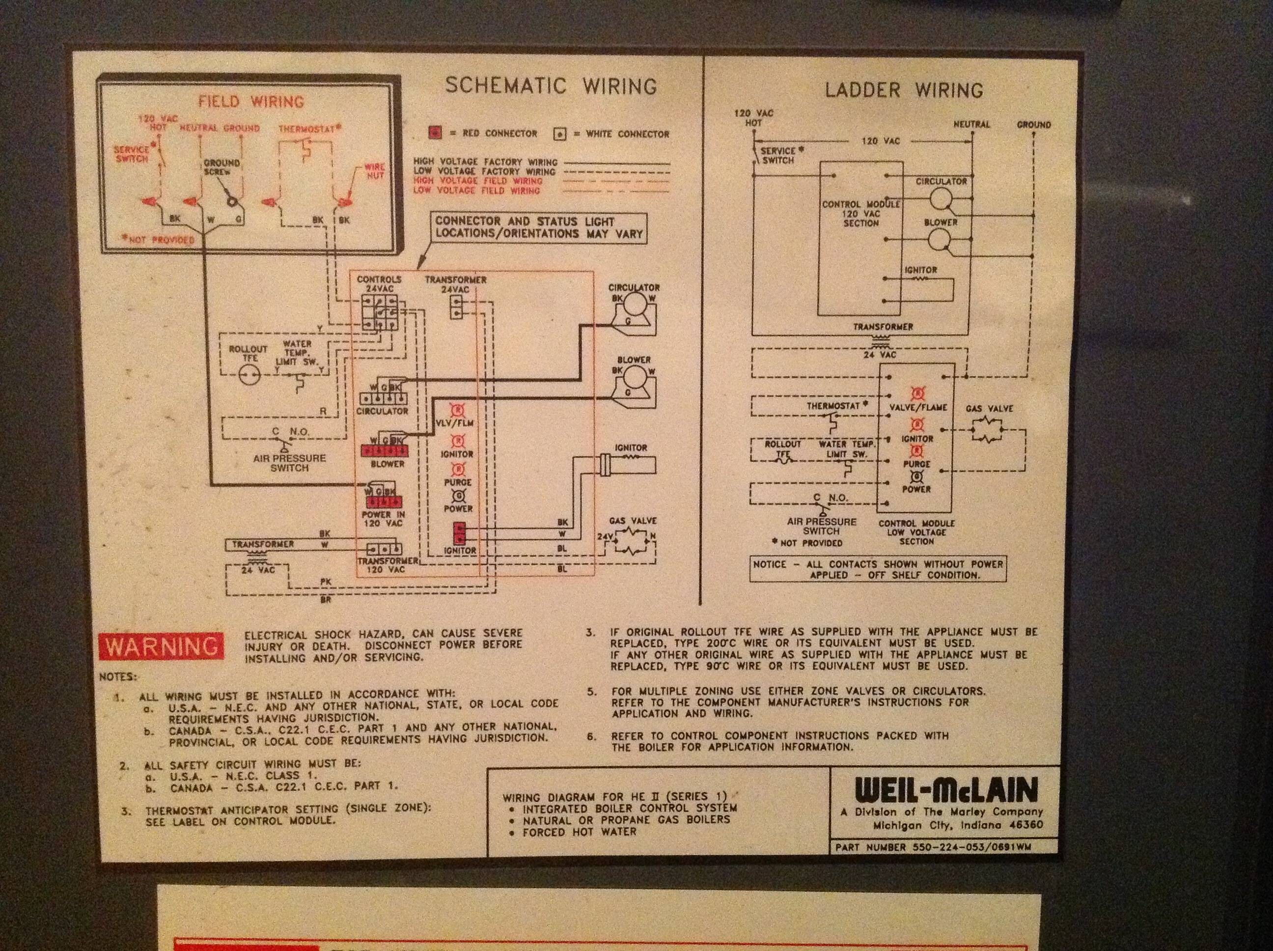 schematic diagram of house wiring simple one way switch electrical - where to connect thermostat c wire weil-mclain he2 series 1 boiler home ...