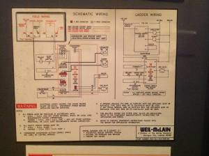 electrical  Where to connect thermostat C wire to Weil