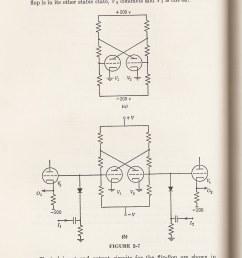 flip flop made of radio tubes [ 1119 x 1487 Pixel ]
