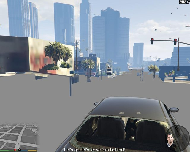 Grand Theft Auto 5 Blocky Graphical Issues And Missing