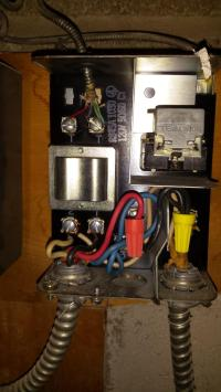 electrical - Old oil furnace with 2 wire thermostat ...