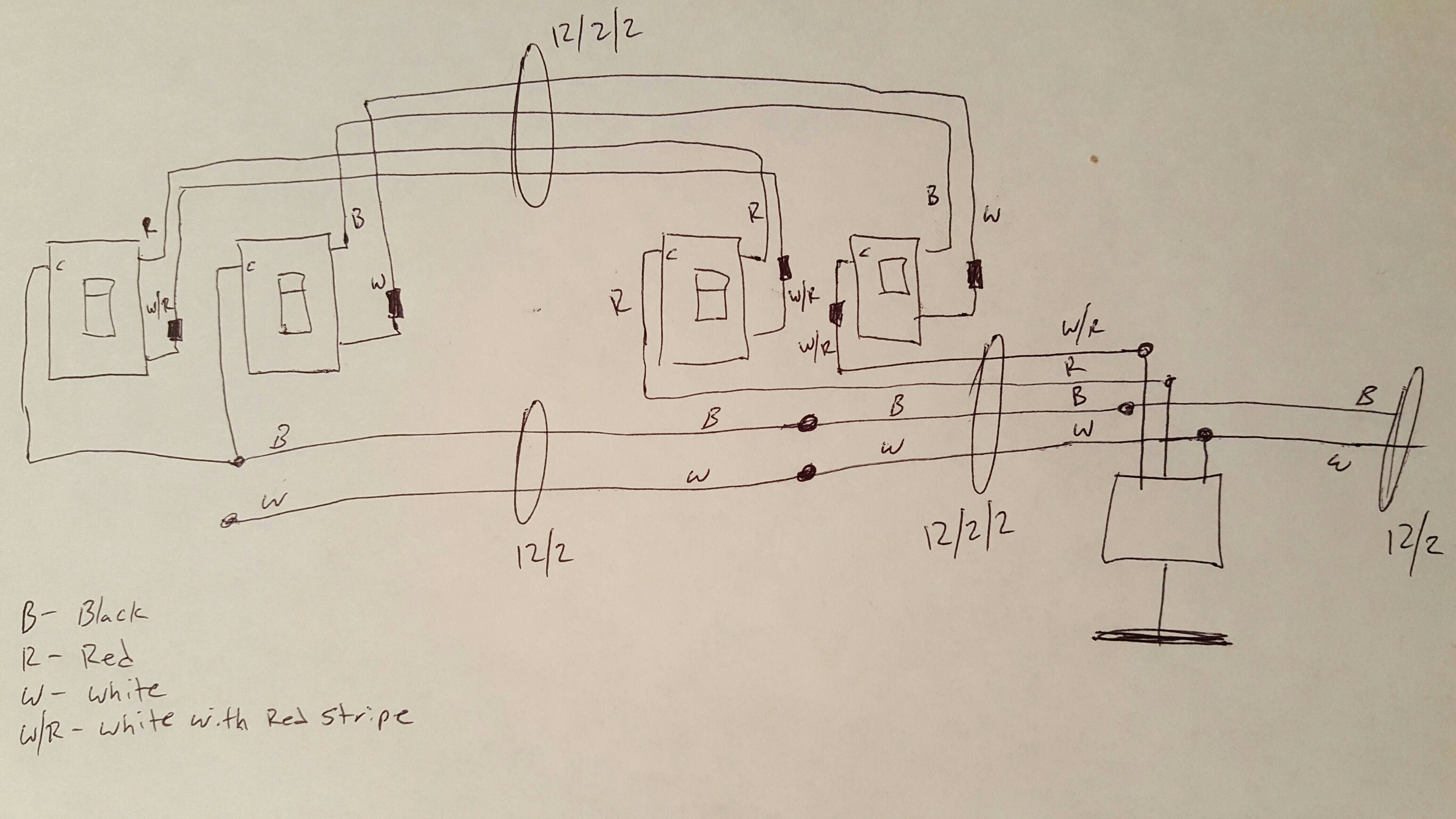 first wiring diagram