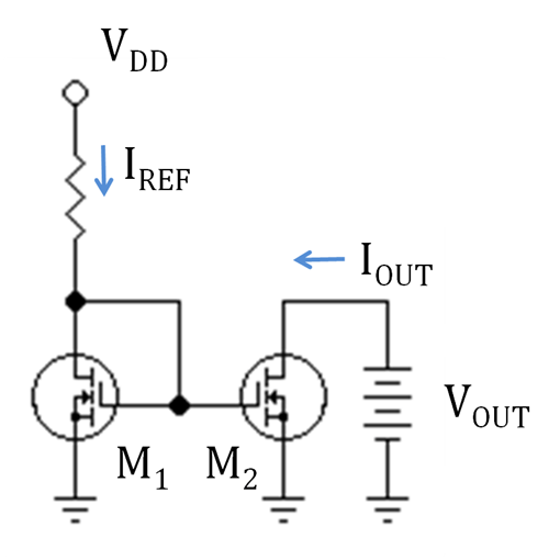 l200 current source mosfet matching circuit