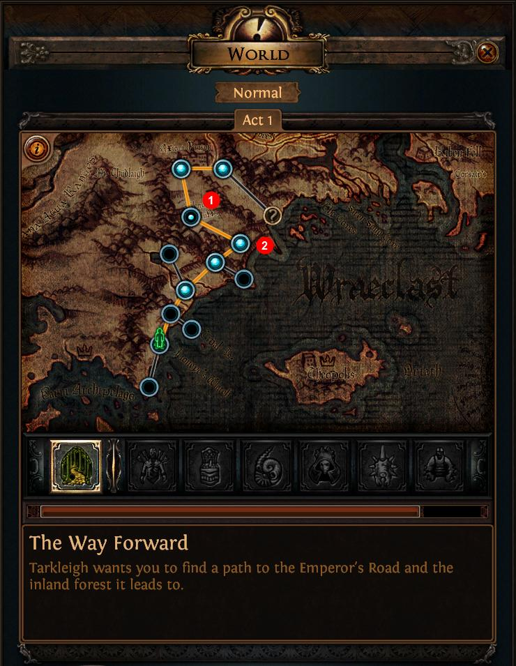 Poe Act 1 Map : What's, Difference, Between, Small, Points?, Arqade