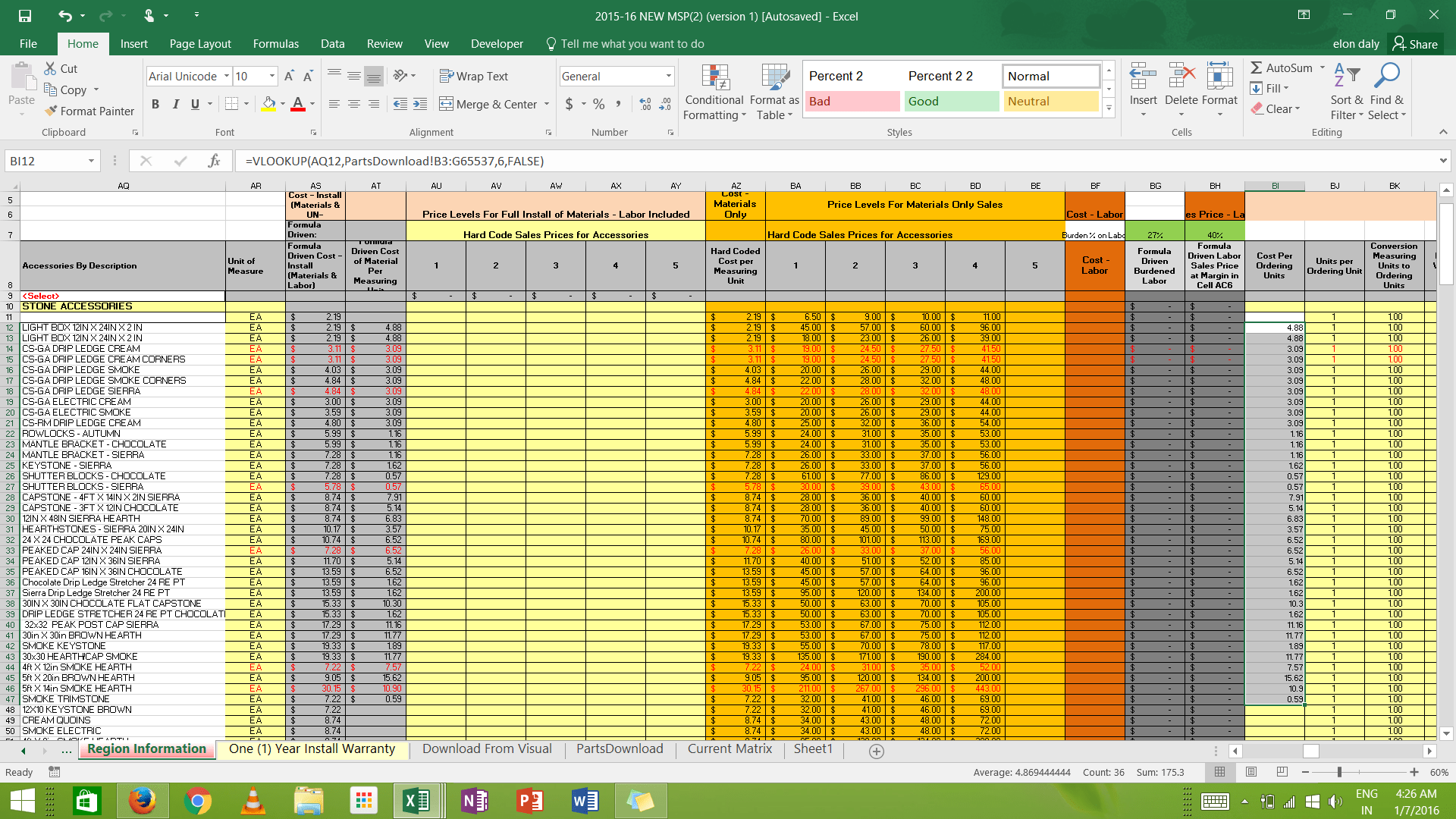 Worksheetfunction Different Sheet