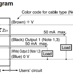 Resistor Circuit Diagram Fender Hot Rod Deluxe Wiring Zener Voltage Protection Of Pnp Open Collector Pull Down Photoelectric Sensor Input Output