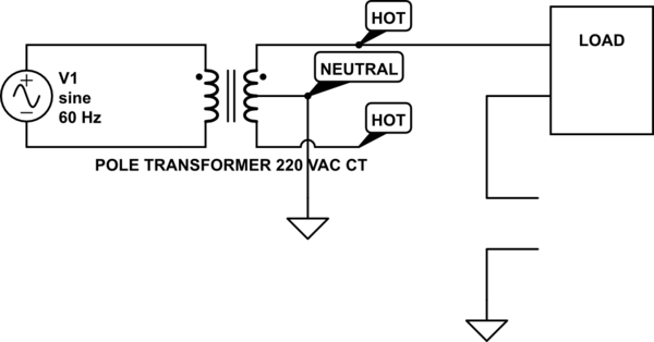 neutral ground resistor schematic