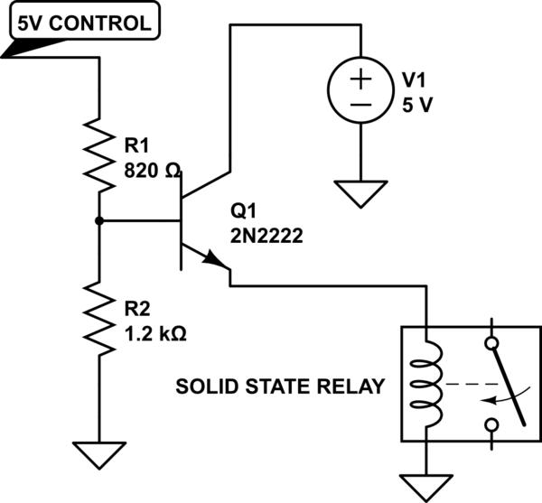 Electronic relay uses