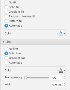 Click on fill  line icon under the button axis options find section and solid also add radial lines to radar chart stack overflow rh stackoverflow