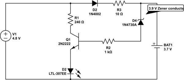 voltage regulator zener diode circuit electrical engineering stack