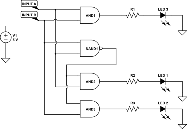 Would like some help with Logic Gates, Trying to use two