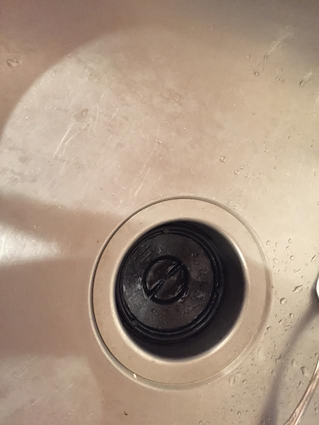 kitchen sink drain stopper narrow base cabinet plumbing - how can i remove the from my ...