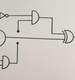 input hand drawn logic gate diagram [ 3139 x 1808 Pixel ]