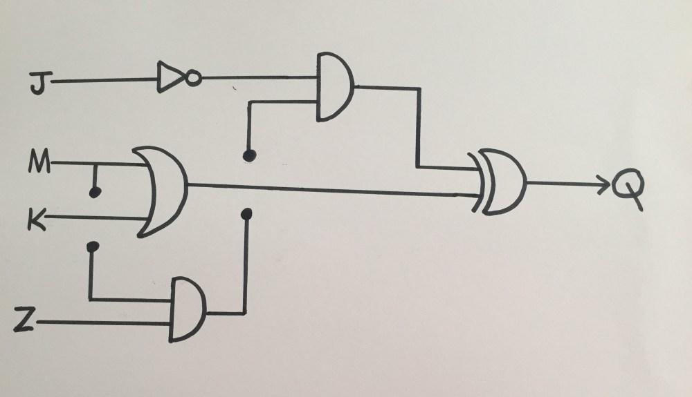 medium resolution of input hand drawn logic gate diagram