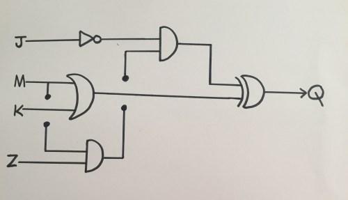 small resolution of input hand drawn logic gate diagram