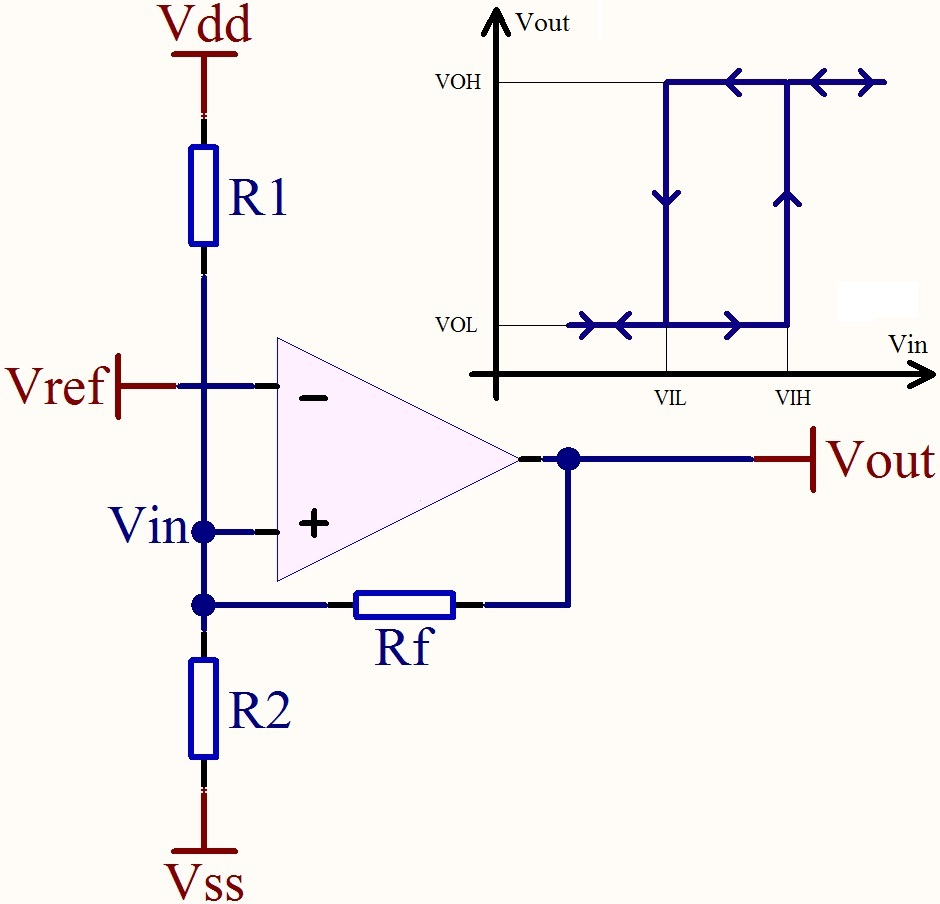 medium resolution of operational amplifier how do i make an opamp comparator work in inverting schimdt trigger op amp circuit schematic