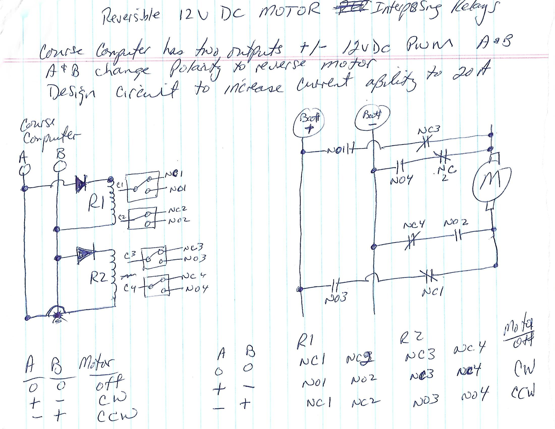 interposing relay panel wiring diagram stem and leaf gcse dpdt build a solid state equivalent of an em autopilot scheme