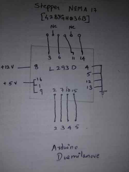 small resolution of stepper motor just oscillates with arduino and l293d arduino stack haydon stepper motor wiring diagram