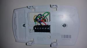 Honeywell Thermostat Wiring Diagram Rth2510 | Diagram
