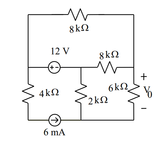 Mesh Analysis on CCT with Voltage and Current Source