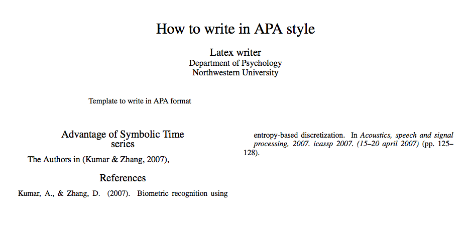 Apa Essay Citation Bibliographies Unable To Cite In Text Apa Style