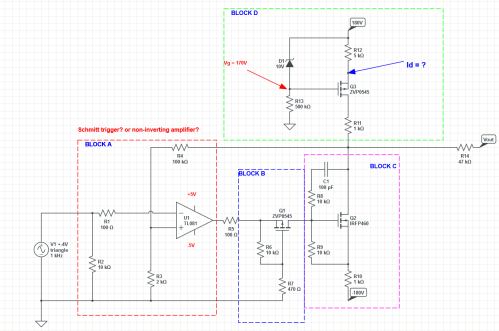 small resolution of current source high voltage op amplifier circuit analize circuit diagram amplifier circuit high voltage operational amplifier