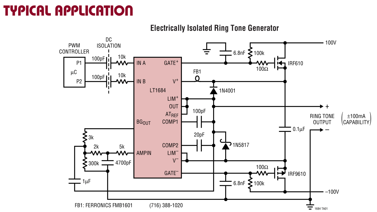 hight resolution of arduino 5v powered phone ring generator circuit electrical enter image description here