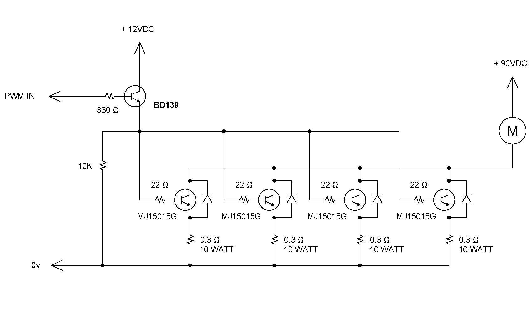 hight resolution of servo drive motor wiring diagram wiring libraryschematic motor dc pwm control speed