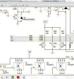 circuit diagram hall interface closeup brushless dc motor [ 1600 x 900 Pixel ]