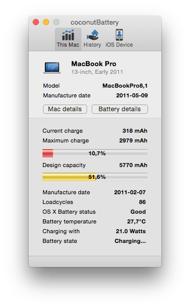 0 amperage macbook battery land cruiser 80 wiring diagram pro percentage jumping down and up ask different coconutbattery output