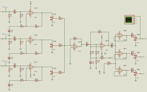 small resolution of audio splitter amplifier circuit diagram using tl084 super circuit channels audio splitter amplifier circuit diagram using tl084