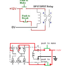 Wiring Diagram 12 Volt Relay Sunflower Plant Life Cycle An Help With My Practice A Common As Latching Of Relays