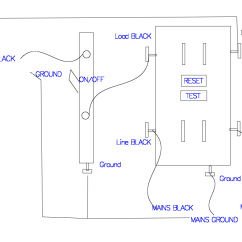 Light Fixture Wiring Diagram Harley Davidson Video Gfci Receptacle With A An On Off Switch