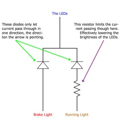 wiring led lights with resistors furthermore led circuit resistor led in parallel with resistor moreover parallel led circuit diagram [ 1024 x 1024 Pixel ]