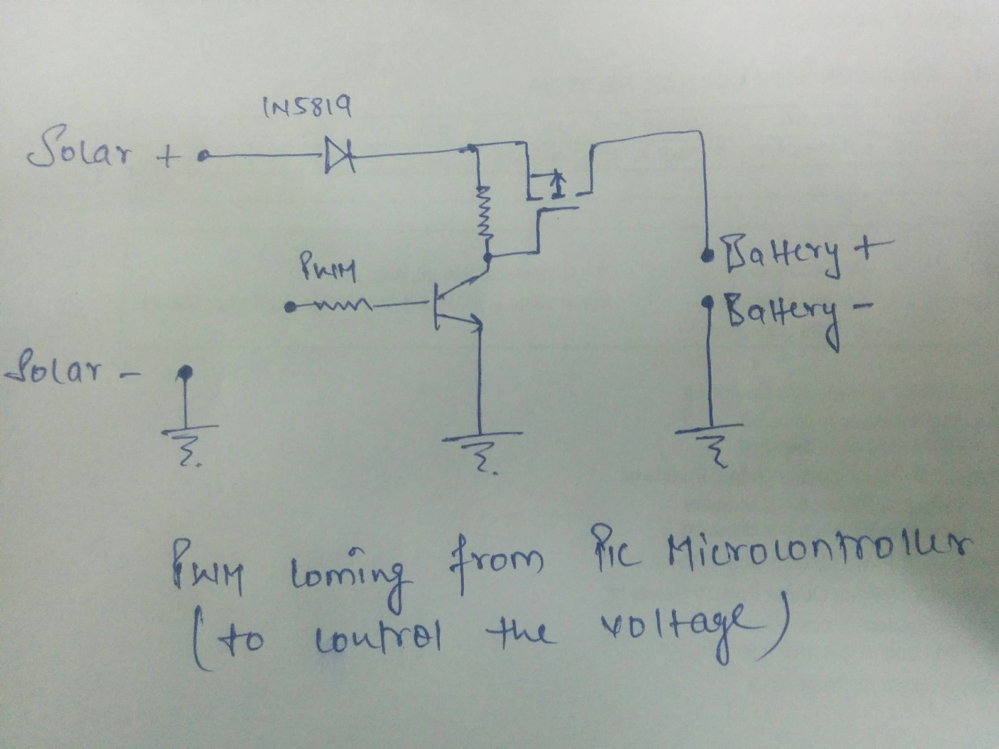 Lead Acid Battery Charging Circuit