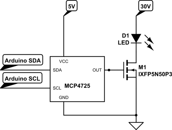Can a MOSFET be used for dimming instead of switching a