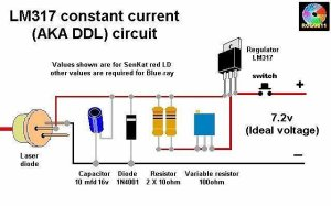 Question about laser driver  Electrical Engineering Stack