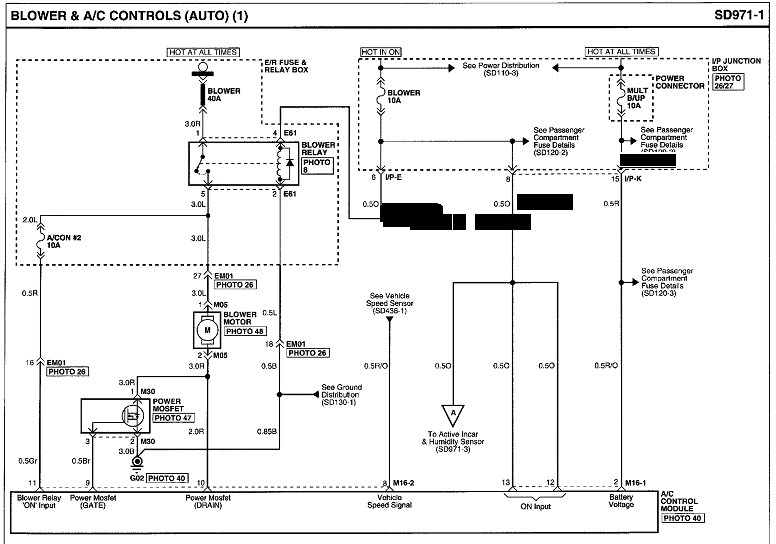 hyundai getz wiring diagram loncin 50cc quad electrical - a/c (interior) blower doesn't turn off motor vehicle maintenance ...