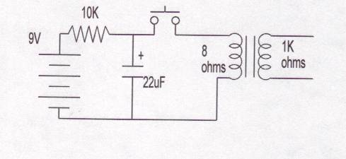 High Voltage Simple Electric Shock Device Electrical