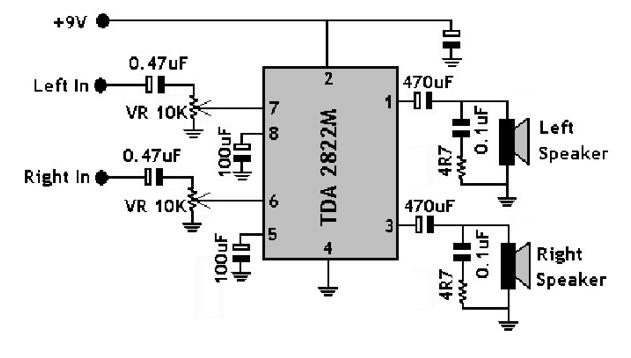 hi fi bass treble circuit