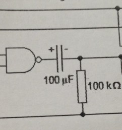 the diagram in question logic gates nand monostable [ 3264 x 952 Pixel ]
