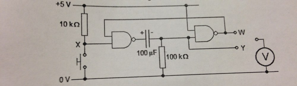 medium resolution of the diagram in question logic gates nand monostable
