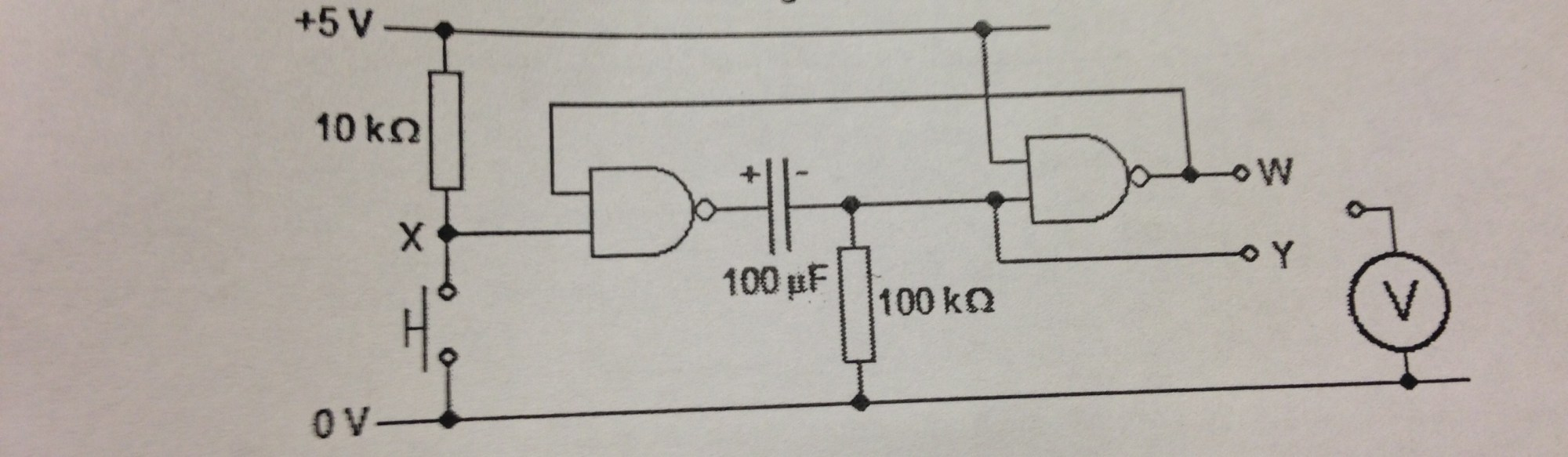 hight resolution of the diagram in question logic gates nand monostable