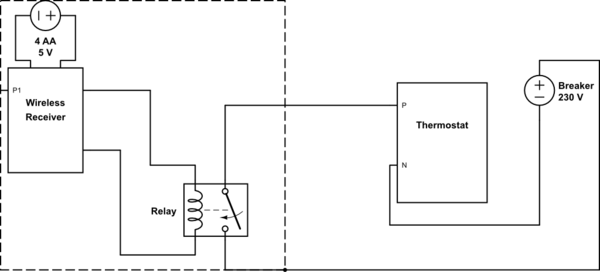 honeywell thermostat wiring diagrams autotransformer diagram voltage bypass electrical engineering stack schematic