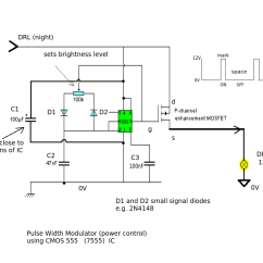 Wiring Diagram For 12 Volt Driving Lights Sahara Desert Food Web Light Two Relays Drl On A Car Electrical Engineering Stack Enter Image Description Here