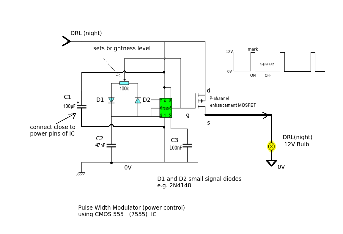 hight resolution of light two relays for drl on a car electrical engineering stack rh electronics stackexchange com 1999