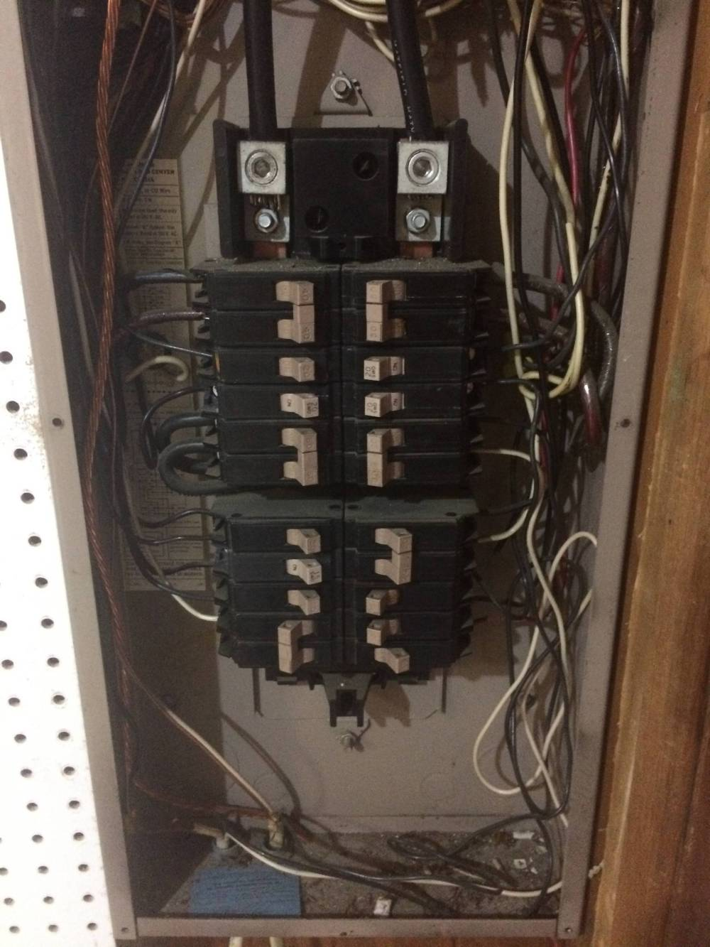 medium resolution of panel incoming wiring connectionscutler hammer panel diagram wiringwiring a cutler hammer breaker box 2 wiring diagram