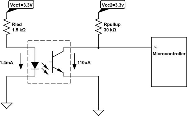 using an optocoupler