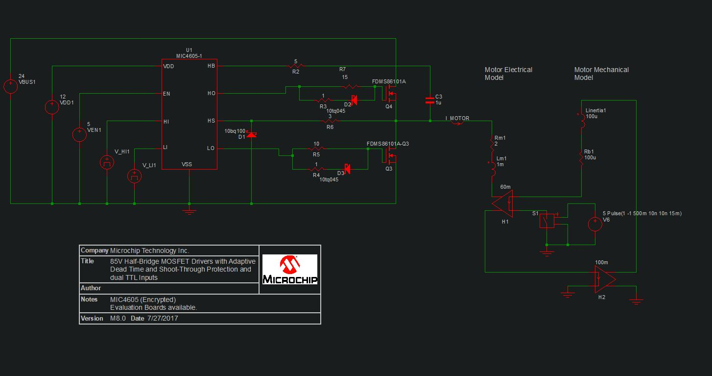 hight resolution of so now i have this wired up and i am down to 1 gate driver left alive after burning 9 this circuit seems to work i am not using a 24v bus