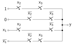 Drawing a circuit structure in LaTeX